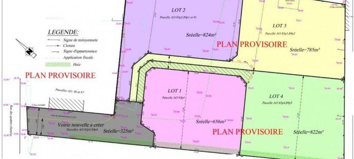 Terrain pour 4 maisons - Ref.WAV3191 - Image 1