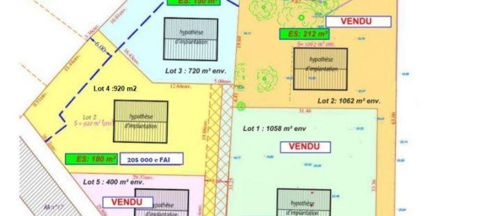 Nouveaute Terrains a batir - Ref.WAV265 - Image 1
